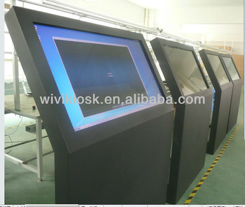 55 inch ir touch screen lcd monitor for information display kiosk