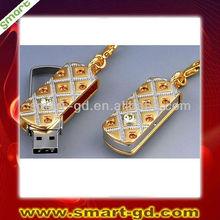 jewelry diamond usb flash drive 4GB free shipping