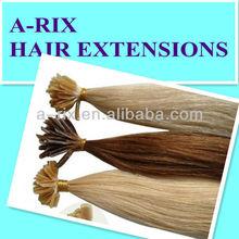 gorgeous excellent quality U tip fusion glue human hair extension
