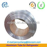 polish flexible aluminum tube coils refrigeration