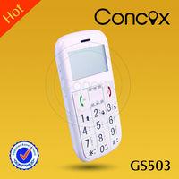 Elderly phone Quad band elders mobile phone gs503