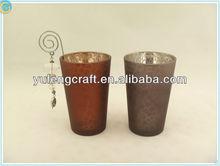 metal tree candelabra,garden decoration,shaanxi langhao ,cylinder Electroplating Silver tea light candle holders wholesale,