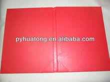 a4 pu leather presentation folder