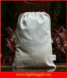 Custom Reusable Drawstring Bag Cotton