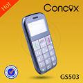 quad band gps celular gs503 com grande botão e alarme sos