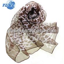 nueva moda de primavera y verano de la mujer bufandas bufanda de la gasaimprimir pashmina mantón de venta al por mayor