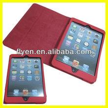 Fold Case Tri-folio Style 360 Degree Rotate Stand Case for iPad mini Leather Case Wake UP Sleep Magnetic Manufacturer Wholesale
