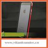 TPU Bumper Cover for Apple iPhone 5,High Quality TPU Bumper Shell Skin Case --- Black/Red