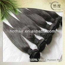 top grade virgin straight hair 100% human hair kbl peruvian hair