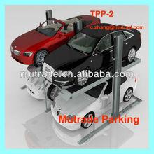 Hydraulic 2 Post 2 Floor Hoist Transportation Car Parking System