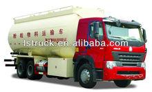 polyethylene powder tanker truck