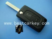 Best price car key lock remote key For peugeot 307 remote key