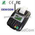 Bon marché et l'utilisation de données à faible gsm terminal portable pos gprsimprimanteimprime pour la nourriture du site