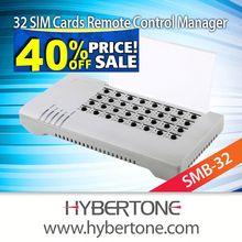 32 sim slots,sim card remote control manager,SMB32