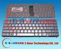 Original nueva para HP DV5 DV5T DV5Z DV5-1000 dv5-1100 teclado teclado del ordenador portátil diseño RU del teclado del cuaderno ebour001