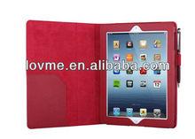 skin for New iPad 4 iPad 3 & iPad 2 Premium Folio Leather Case / Cover and Flip Stand