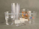 Plastic Products PS Cup Manufactured by AIRFA Fast Automatic Plastic Injection Moulding Machine price