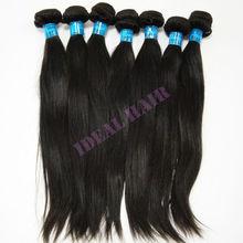 high quality brazilian straight remy human hair no shedding & tangle