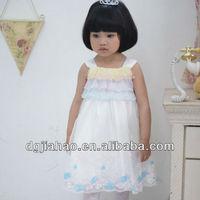 HOT!!! 2013 summer comfortable sleeveless rainbow princess lovely baby birthday dress