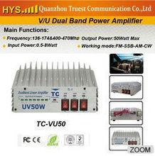 Hotselling 50W! Dual Band Amplifier TC-VU50