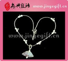 Cultural Agate Fan-shape Beaded Traditional Jewellery