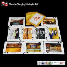 golden foil poker cards,printing metal poker card