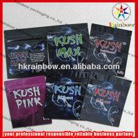 Kush Aluminum Foil Bag Potpourri Smoke Bag with Zipper