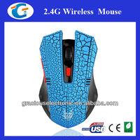 New DPI ajustable 2.4ghz usb wireless optical mouse
