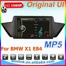 Original UI car radio gps for bmw X1 e84 gps Navi