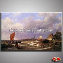 di alta qualità della pittura a olio velieri