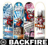 Backfire skateboard wooden decking, wave board