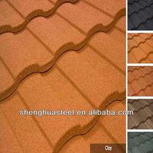 Yiwu factory Stone Coated Steel Roof/1710*420