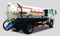 De sucção de esgoto caminhões, poluição carro bomba de vácuo, a limpeza de águas residuais