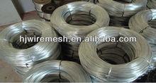 Le placage de zinc galvanisé fil de fer/fil chaud plongé galvanisé/fil galvanisé électrique