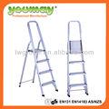 /tuv gs en131 móveis de pés de borracha para a escada de alumínio af0104a