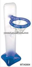 PVC inflatable basketball goal,basketball goal toys