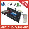 VTF-002C usb car audio lcd display mp3 board for amplifier
