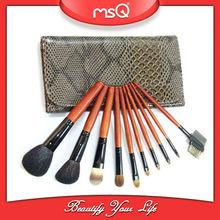 MSQ 10pcs kolinsky sable makeup brushes