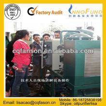 Fason Black Motor Oil Purifier,Oil Reclaiming,Oil Recycling Plant
