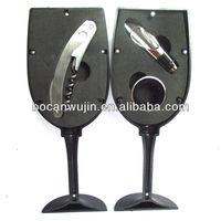3-Piece wine presents,red wine goblets