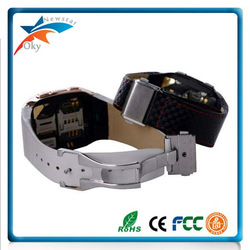 2013 watch phone GD910i 1.6inch touch screen Quad band MP3 Bluetooth