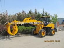 new 920 model wheel loader with sugar cane grab