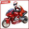 Plastic toy motorbike