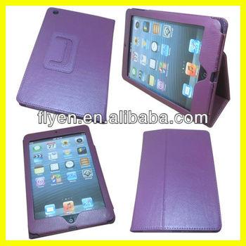 Folio Leather Sublimation Case for iPad mini Folio Case Stand With Wake up Sleep Function Manufacturer Wholesale