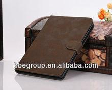 Tan leather book case for ipad mini