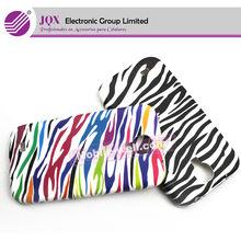 Mobile phone TPU case Zebra line printing for Samsung Galalxy S4 i9500