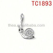 Necklace vners snail charms pendant jewelry ornamentation