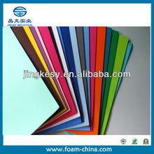 custom size color pattern printing Black EVA rubber sheet