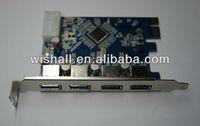 4 USB3.0 Port USB 3.0 PCIE PCI-E x1 Card
