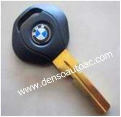 New replacement of car key shell; BMW key blank (HU58);Metal logo